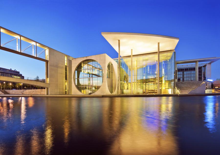 Fassadenbeleuchtung Gebäudebeleuchtung Designbeleuchtung   Architekturbeleuchtung - AWSystems Krefeld NRW