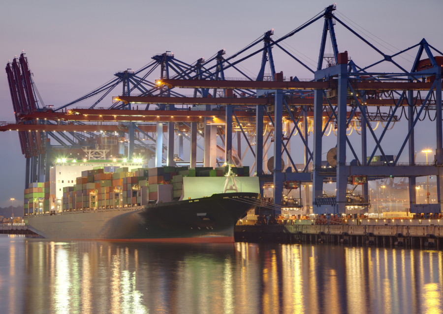 LED Industriebeleuchtung Hafenbeleuchtung Logistikbeleuchtung Verladelicht - AWSystems Krefeld NRW